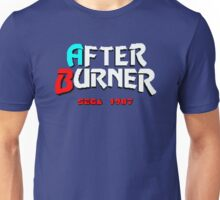 AFTER BURNER SEGA ARCADE Unisex T-Shirt