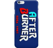 AFTER BURNER SEGA ARCADE iPhone Case/Skin