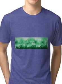Floral home decoration. Agapanthus 14 Tri-blend T-Shirt