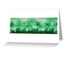 Floral home decoration. Agapanthus 14 Greeting Card