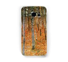 Beech Forest by Gustav Klimt Samsung Galaxy Case/Skin