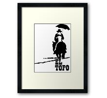 El Topo - metaphysical western by Jodorowsky  (The Mole) Framed Print