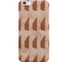 Pattern 025 Trapezoid Patterns Red Mulberry iPhone Case/Skin