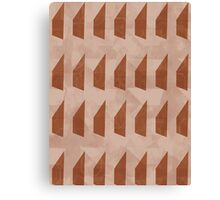 Pattern 025 Trapezoid Patterns Red Mulberry Canvas Print