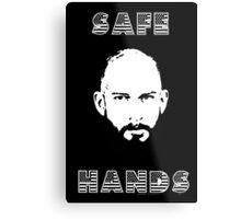 Tim Howard Safe Hands Metal Print