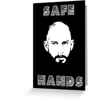 Tim Howard Safe Hands Greeting Card