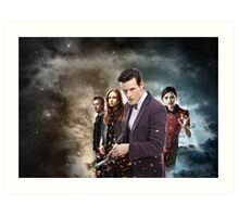 Doctor Who Season 7 Art Print