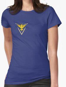 Pokemon Go Team Yellow Womens Fitted T-Shirt