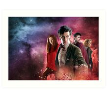 Doctor Who Season 5 Art Print