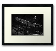 Airplane shadow play Photo 2 Framed Print