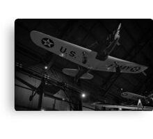 Airplane shadow play Photo 2 Canvas Print