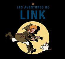 Les Aventures de Link by mathiole