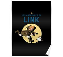 Les Aventures de Link Poster
