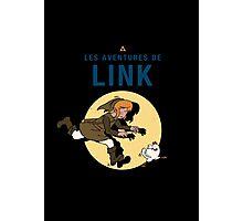 Les Aventures de Link Photographic Print