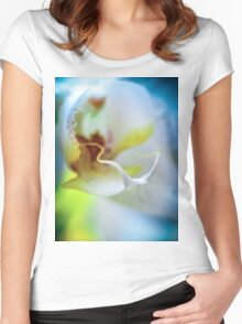 Floral lust  Women's Fitted Scoop T-Shirt
