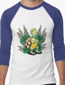 Tired Turtle - 2 Men's Baseball ¾ T-Shirt