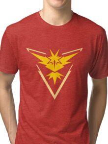 Pokemon Go Team Yellow Tri-blend T-Shirt