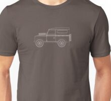 Land Rover Series III Outline Unisex T-Shirt