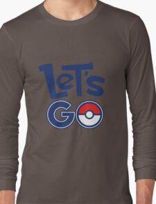 Pokemon GO - Let's Go - Pokémon GO Fans - Pokemon Long Sleeve T-Shirt