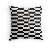 Abstract op art pattern Throw Pillow