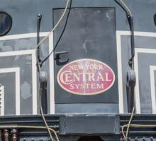 New York Central System Locomotive Vintage Sticker