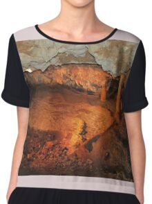 Tranquil Caves Chiffon Top