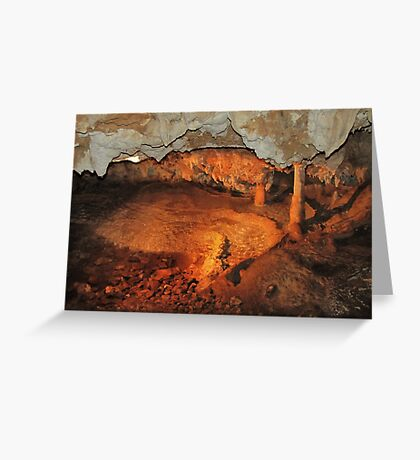 Tranquil Caves Greeting Card