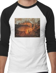Tranquil Caves Men's Baseball ¾ T-Shirt