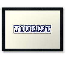 WE ARE TOURIST Framed Print