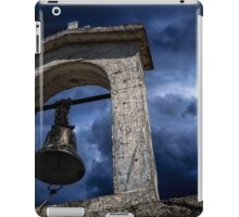 Ancient church bell iPad Case/Skin