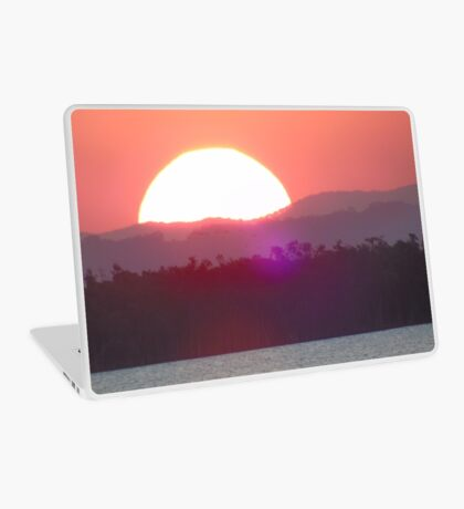 Setting Sun In Oz Laptop Skin