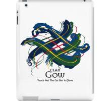Clan Gow - Prefer your gift on Black/White tell us at info@tangledtartan.com  iPad Case/Skin