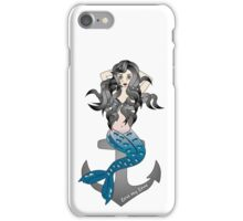 Crying mermaid - lost my love iPhone Case/Skin