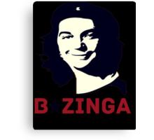 Che Sheldon Bazinga Canvas Print