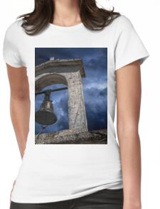 Ancient church bell Womens Fitted T-Shirt
