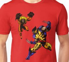 Wolverine vs Sabretooth Unisex T-Shirt