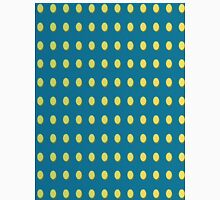 Pattern 030 Yellow Oval Dots Blue Background Unisex T-Shirt