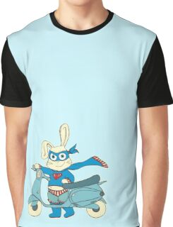 Be-All-You-Can-Be Bunny Rides in to Save the Day Graphic T-Shirt