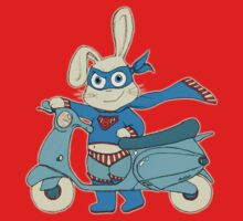 Be-All-You-Can-Be Bunny Rides in to Save the Day Kids Tee