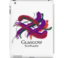 Glasgow, Scotland - Prefer your gift on Black/White tell us at info@tangledtartan.com  iPad Case/Skin