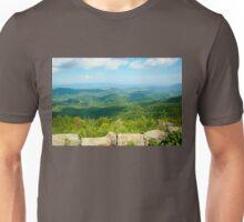 Blue Ridge Mountains Unisex T-Shirt