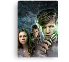DOCTOR WHO : THE DOCTOR, AMY & RORY Canvas Print