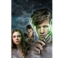 DOCTOR WHO : THE DOCTOR, AMY & RORY Photographic Print
