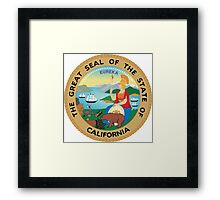 Seal of California  Framed Print