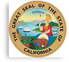 Seal of California  Canvas Print