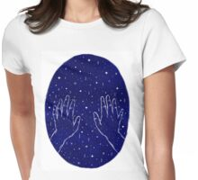 touch the sky Womens Fitted T-Shirt
