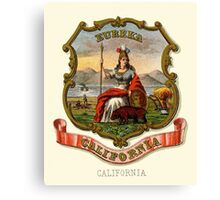 Historical Coat of Arms of California Canvas Print