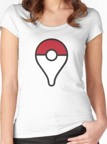 Pokemon GO - PokeGoPin - Pokémon GO Pin - PokeGo Women's Fitted Scoop T-Shirt