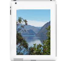 New Zealand lakes iPad Case/Skin