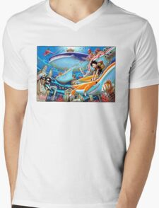 ONE PIECE #07 Mens V-Neck T-Shirt